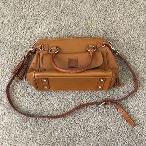 Authentic Dooney and Bourke Ostrich Handbag
